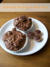 Sonntagskuchen: Toffifee-Nutella-Muffins