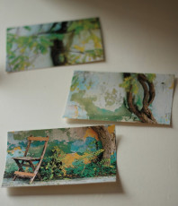 Mini DIY: Postkarten aus Postern