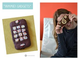 Gameboy, i-Phone und Fotoapparatkekse