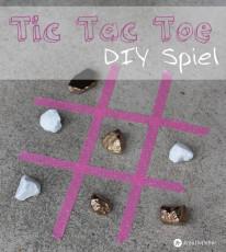 DIY Tic Tac Toe Spiel