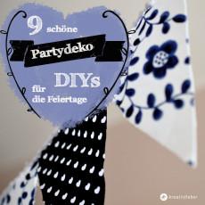 9 Partydeko DIYs für die Festtage