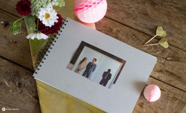 Malauftrag Gästebuch - Hochzeitsgeschenkidee