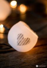 DIY Wachs Lichterkette