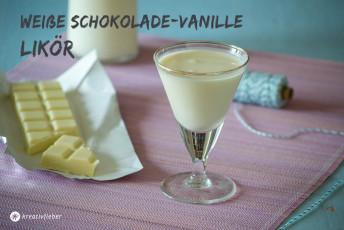 Weiße Schokolade Vanillelikör