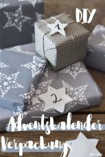 DIY Adventskalender Verpackung