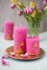 DIY Kerzen gestalten – 3 Varianten