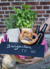 Biergarten to go - Geschenkidee zum Einzug
