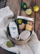 Gute Besserung Geschenkset mit DIY Erkältungsbadesalz