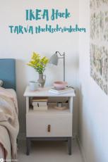 IKEA Hack TARVA Nachtschränkchen