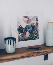 Zuhause wird's wohnlich – Wandbilder