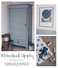 Kinderzimmerschrank Upcycling und Sneak Peek