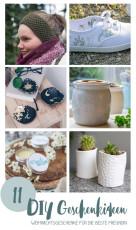 11 schöne DIY Geschenke für die beste Freundin