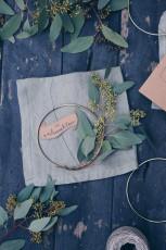Geschenkidee: Winterkranz mit Eukalyptus