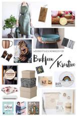 Weihnachtsgeschenke für Kreative und Backfeen