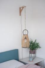 DIY Hängelampen aus Bambuslaterne bauen