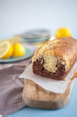 Zitronen-Marmorkuchen