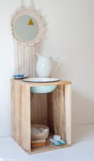 DIY Montessori Waschtisch für Kinder