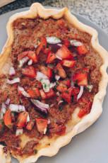 Snack Rezept: Türkische Pizza