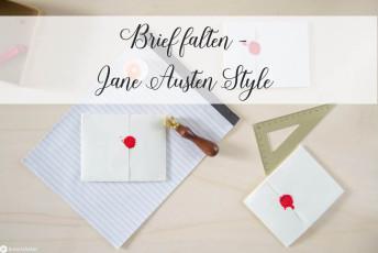 Brief ohne Umschlag falten