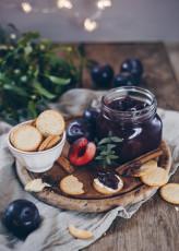Pflaumen-Rotwein-Chutney Rezept