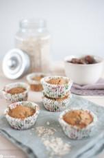 Dattel-Haferflockenmuffins