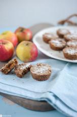 Niederländische Apfel-Streuselküchlein