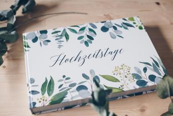 DIY Geschenkidee zur Hochzeit – Hochzeitstage Album plus DIY Gästebuch