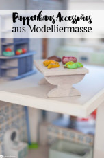 DIY Puppenhaus-Accessoires aus Modelliermasse