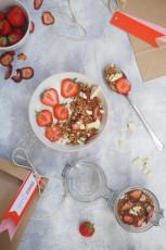 Geschenke aus der Küche – Erdbeer Granola