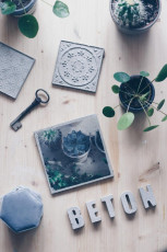DIY Fototransfer auf Beton