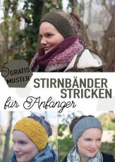 5 gratis Muster zum DIY Stirnbänder stricken