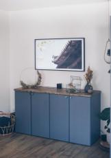 DIY IKEA Ivar Hack – Sideboard fürs Wohnzimmer