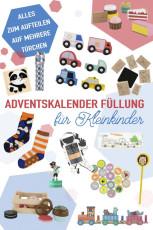Ideen für die Adventskalenderfüllung für Kleinkinder