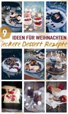 9 leckere Dessert Rezepte für Weihnachten und die Feiertage