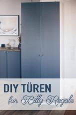 DIY Türen für Billy Regale bauen