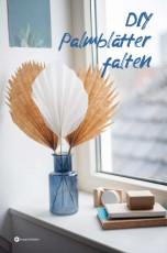DIY Palmblätter aus Papier falten