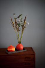DIY Kürbis als Vase