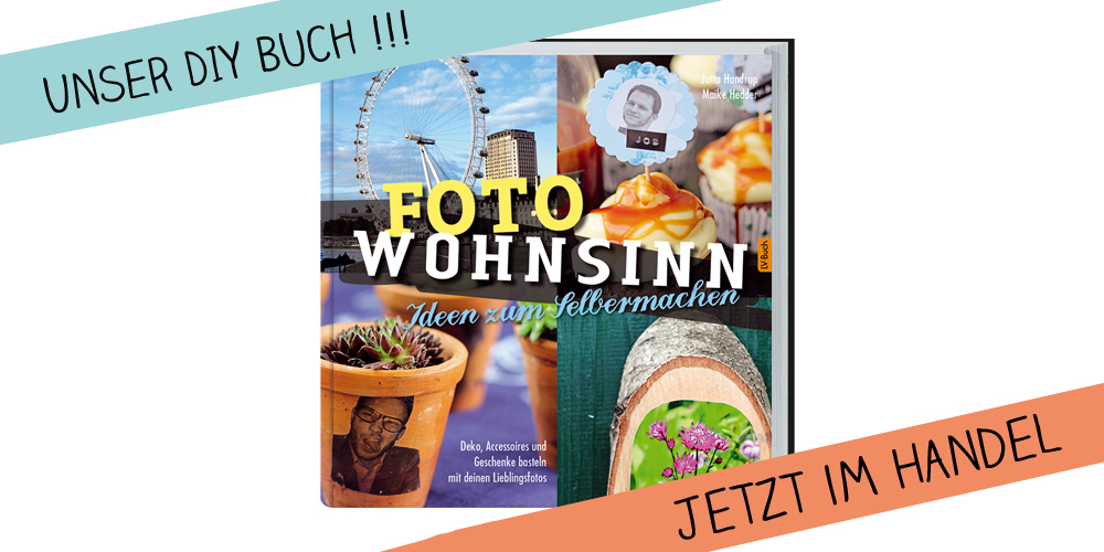 Foto Wohnsinn Kreativfieber DIY Buch Jutta Handrup und Maike Hedder