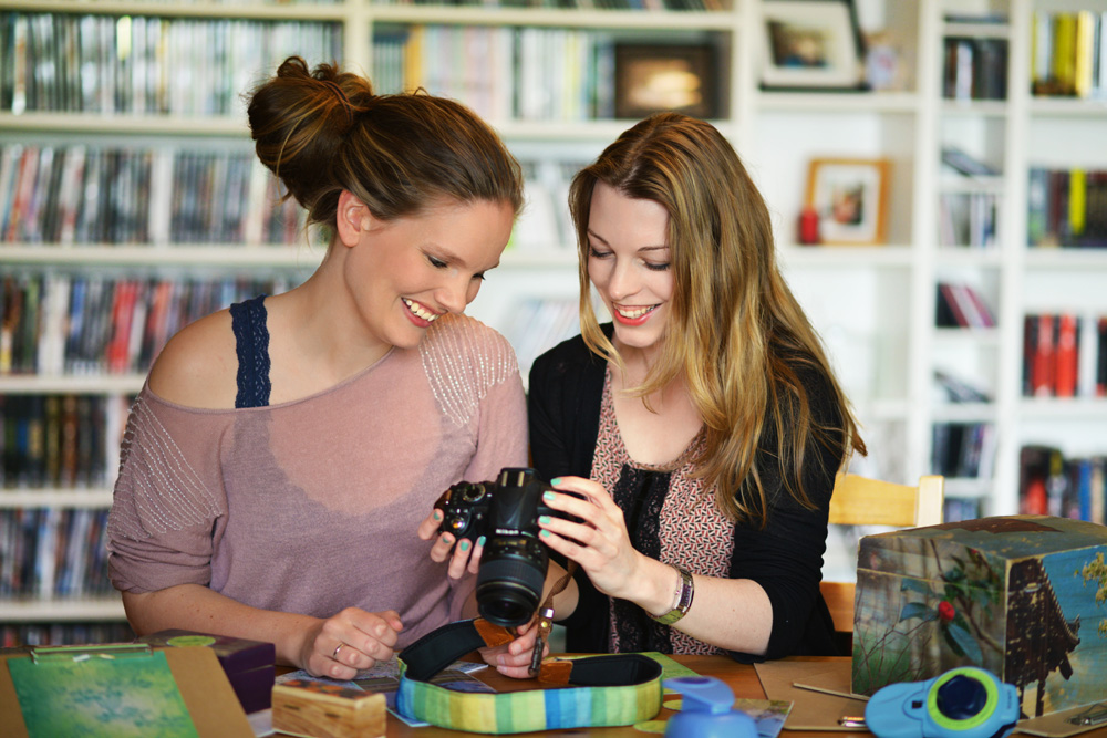 Jutta Handrup und Maike Hedder DIY Blog und Back Blog Kreativfieber.de