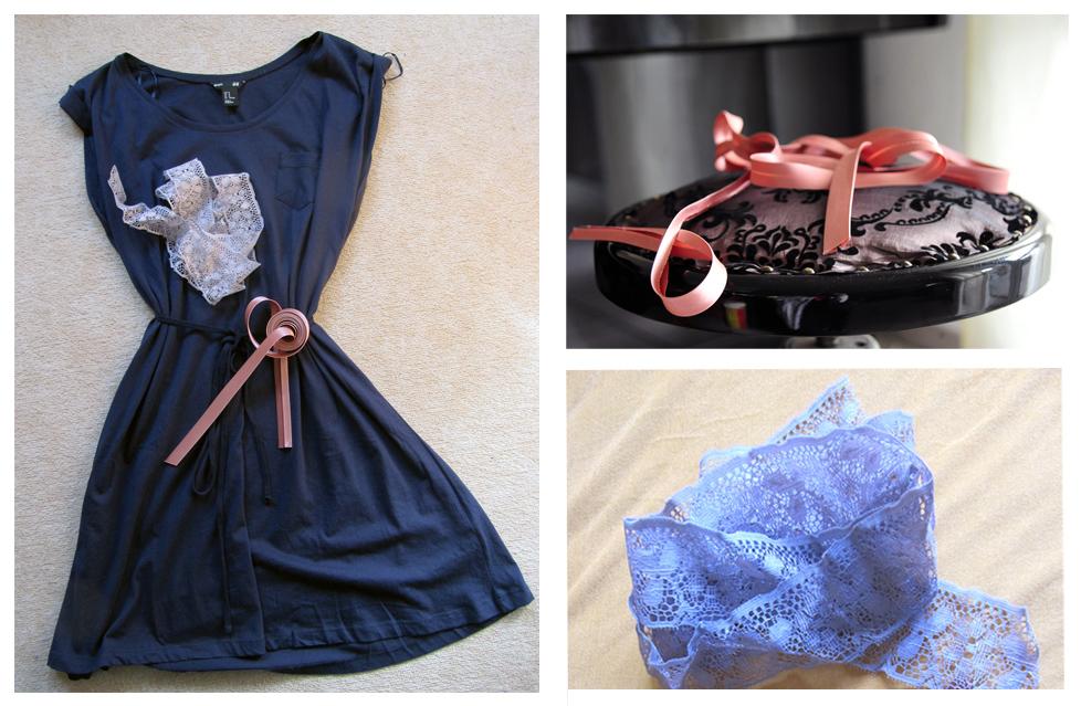 Kleider Aufwerten Individualisieren Verschonern H M Kleid Hack