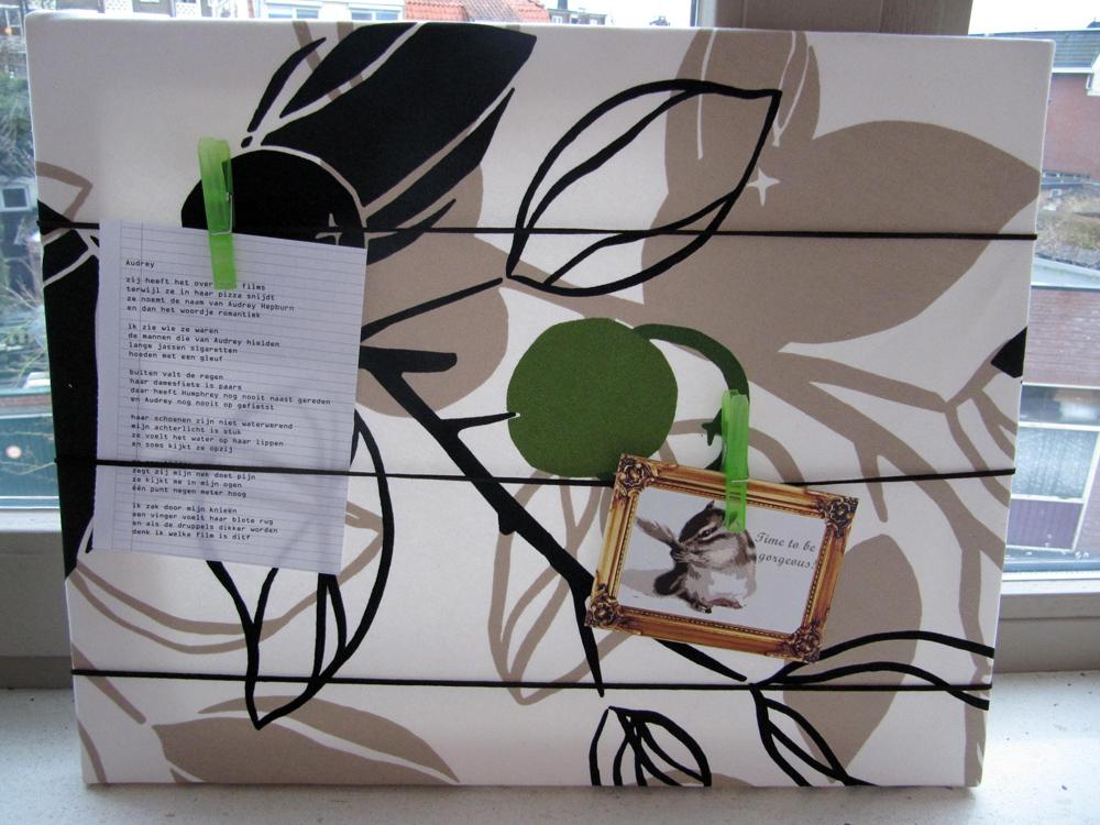 memoboard kreativfieber. Black Bedroom Furniture Sets. Home Design Ideas