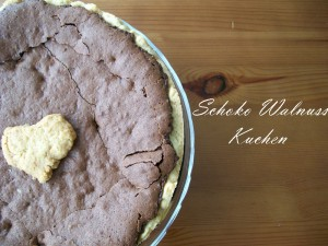 Schoko Walnuss Kuchen Lecker