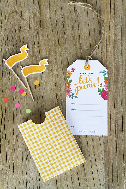 fundstück | einladung zum picknick | freebie von eatdrinkchic |, Einladung