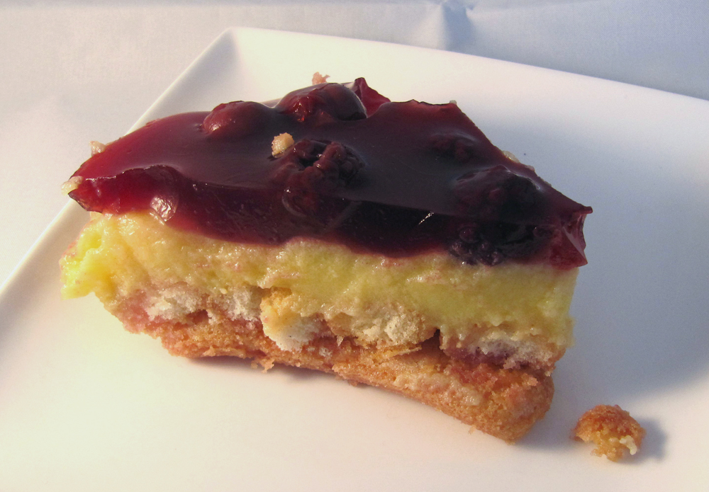 biskuit pudding torte