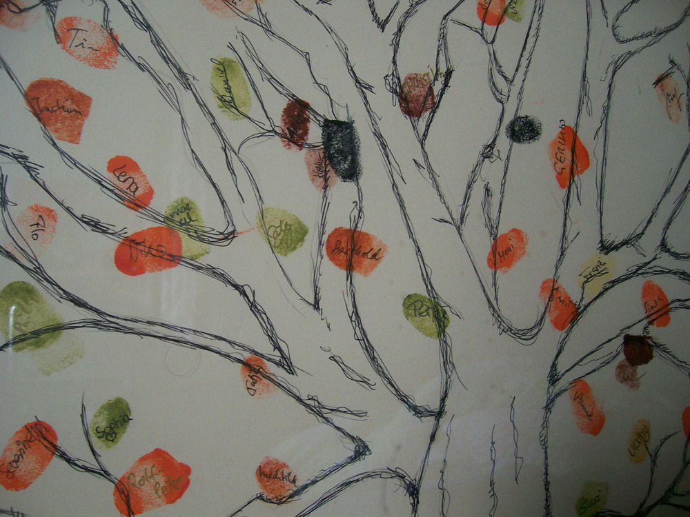 DIY Fingerprint Tree