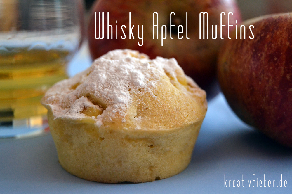 whisky apfel muffins