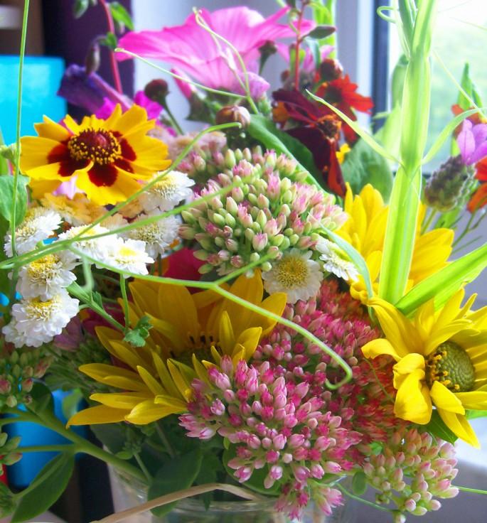 Wildblumen Gastgeschenke