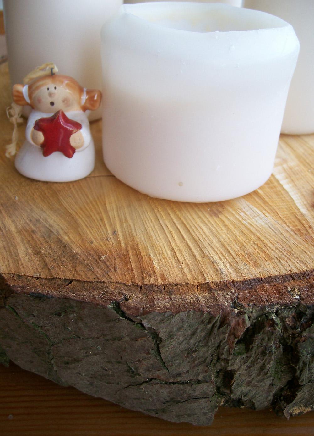 Diy Simplen Modernen Adventskranz Selbermachen Mit Holz