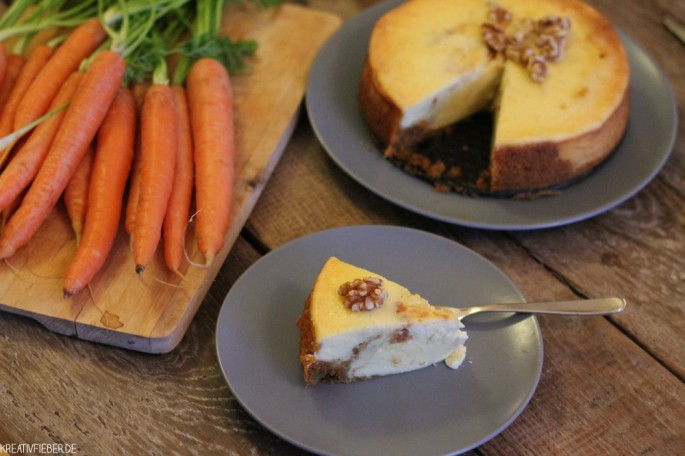 Karotten Cheesecake Stück