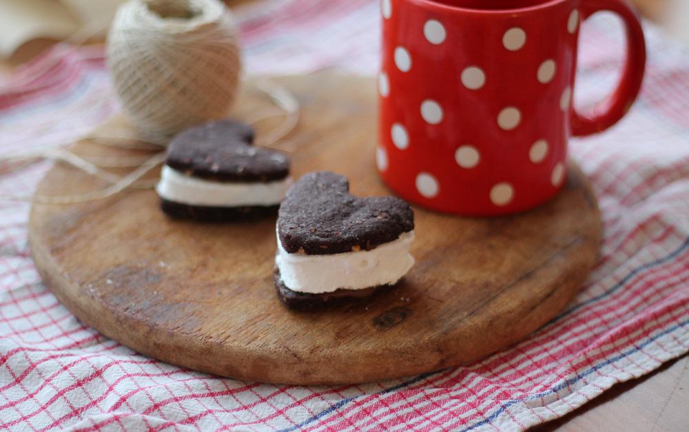 Schoko Marshmallow Kekse
